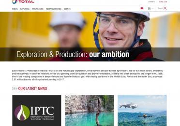ep.total.com homepage image