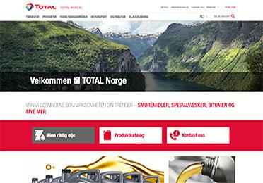 Total Norge home page small